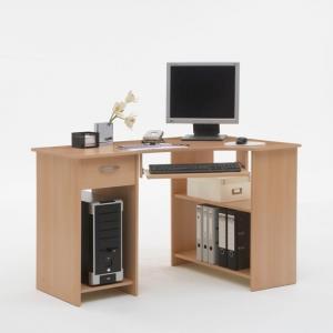 home office computer furniture. Felix Home Office Corner Computer Desk In Beech Furniture S