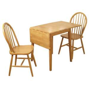 Honeymoon Drop Leaf Dining Set In 2 Chairs