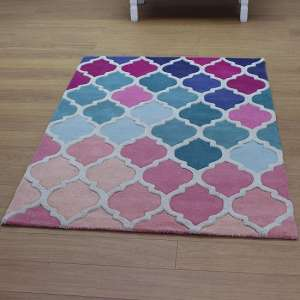 Illusion Rosella Rug