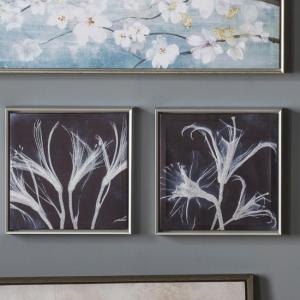 Alamon Set of 2 Wall Art In Floral Artwork