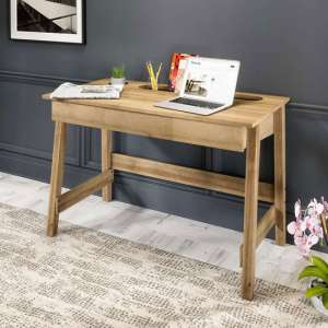 Ithaca Wooden Laptop Desk In Riviera Oak