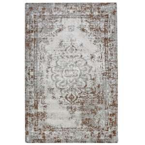 Jacquard Woven Light Green Rug