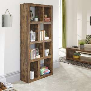 Jakarta Tall Open Display Stand Unit With Shelves