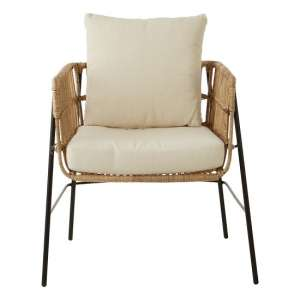 Felixvarela Chair With Removable Cushions In Grey