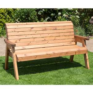 Jestra Traditional 3 Seater Bench