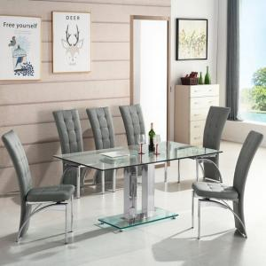 Glass Dining Table And 6 Chairs Upto 70 Off Furniture in Fashion