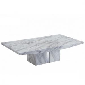 jupiter marble coffee table rectangular in white carrera2