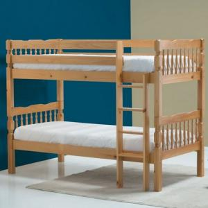 Keswick Wooden Children Bunk Bed In Antique Pine
