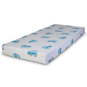 Kids Choo Choo Memory Foam Single Mattress