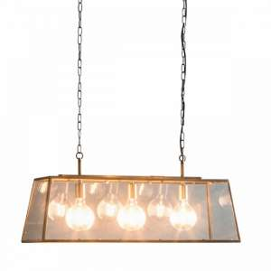 Lancaster Pendant Light With Glass Frame