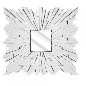 Solitaire Large Square Wall Mirror