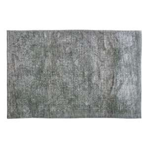 Lennox Extra Large Fabric Upholstered Rug In Sage