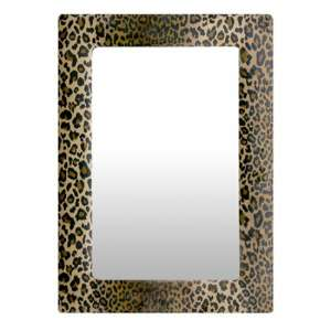 Leo Wall Bedroom Mirror In Beige Frame