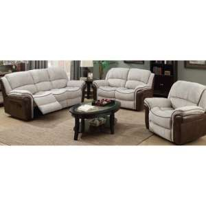 Lerna Fusion 3 Seater Sofa And 2 Seater Sofa Suite In Mink