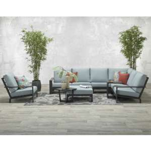 Linc Corner Sofa Group With Footstool And Recliner Chairs
