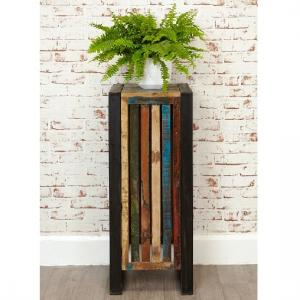 London Urban Chic Wooden Plant Stand Or Lamp Table_1