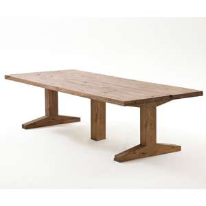 Lunch Large Wooden Dining Table In Bassano Oak