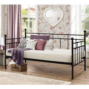 Lyon Steel Daybed In Black