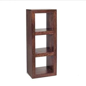 Mango Wood 3 Hole Display Unit