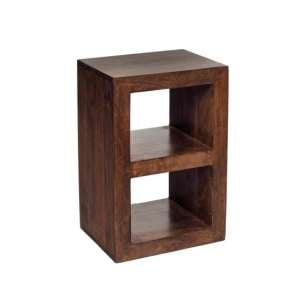 Mango Wood 2 Hole Display Unit