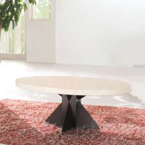 Athens Oval Marble Coffee table