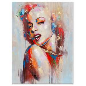 Marilyn Monroe Canvas Wall Art In MultiColour