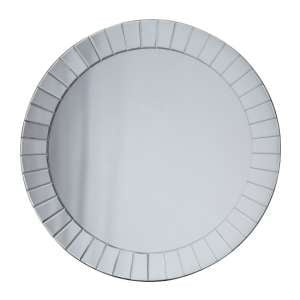 Matlock Round Wall Bedroom Mirror In Silver