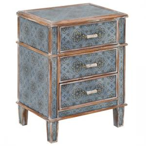 Melbourne Contemporary Wooden Bedside Cabinet With 3 Drawers