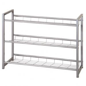 Jette 3 Tier Metal Shoe Rack
