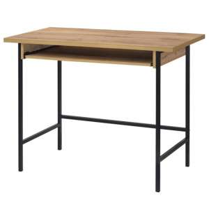 Michigan Wooden Laptop Desk In Oak
