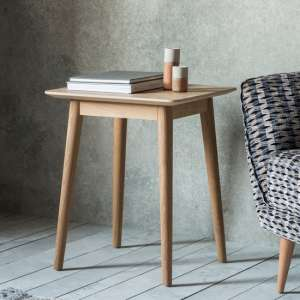 Milano Wooden Side Table In Mat Lacquer