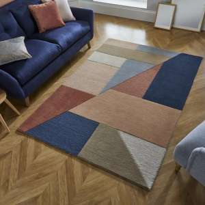 Moderno Alwyn Multi Color Wool Rug