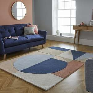 Moderno Esre Multi Color Wool Rug