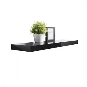 Mosby Floating Wall Shelf In High Gloss Black
