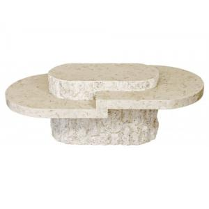 Burma Mactan Stone Coffee Table