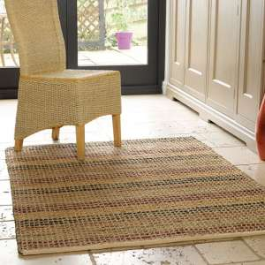 Natural Living Seagrass Terracotta Rug