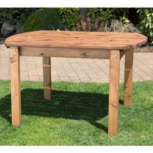 Necova Small Rectangular Wooden Dining Table