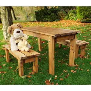 Nepta Kids Form Table With 2 Benches