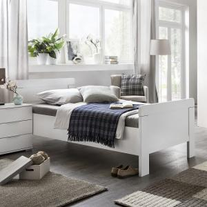 Newport Wooden Single Bed In Alpine White
