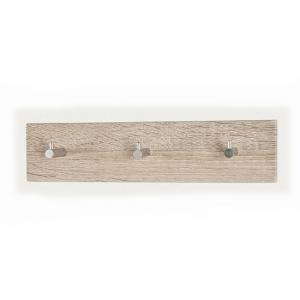 Wall Mounted Canadian Oak Finish Coat Hanging Rack