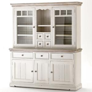 Opal Display Cabinet With Glass Doors