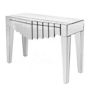 Ophalia Mirrored Console Table Rectangular With 1 Drawer