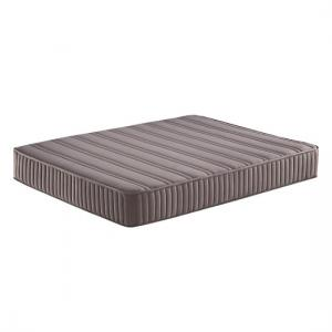 Organic Ortho Backcare Mattress In Linen Grey Fabric