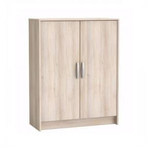 Osaka Storage Cabinet In Acacia With 2 Doors
