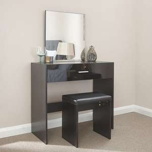 Ottawa Dressing Table Set In Black