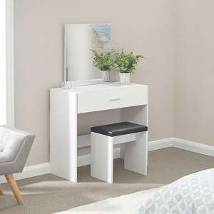 Ottawa Dressing Table Set In White