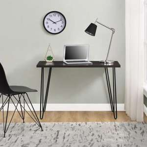 Owen Wooden Retro Laptop Desk In Espresso