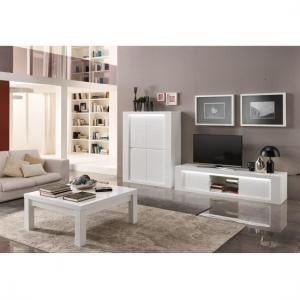... Pamela Coffee Table Square In White High Gloss_3 Part 67