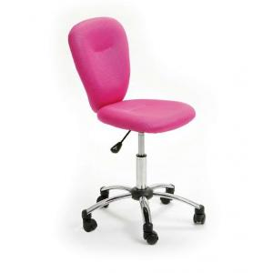 Pezzi Children\'s Office Swivel Chair in Pink