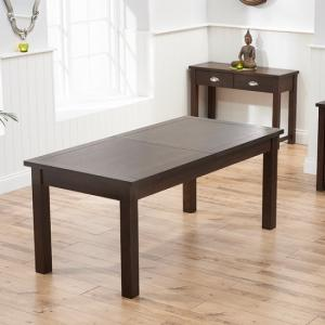 Platina Large Extendable Wooden Dining Romford Cm Glass Table